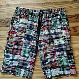 Plaid Bermuda Shorts by J.Crew